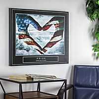 Pride Patriotic Canvas Art Print