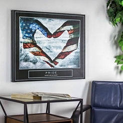 Pride Patriotic Canvas Art Print
