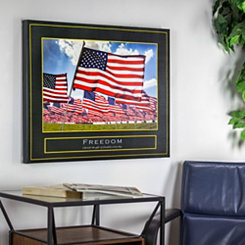 Freedom Patriotic Canvas Art Print