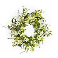 White Blossom Wreath