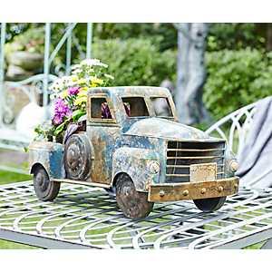Vintage Pickup Truck Planter
