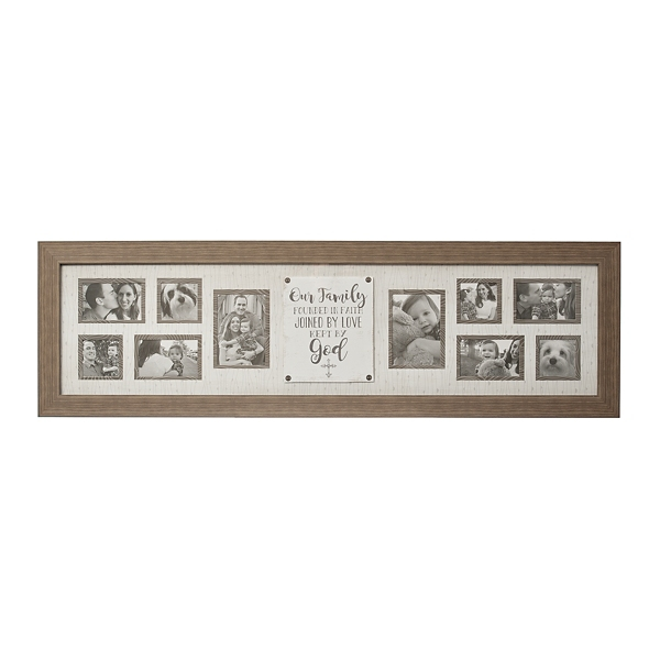 Wonderful 10 Opening Faith And Family Collage Frame