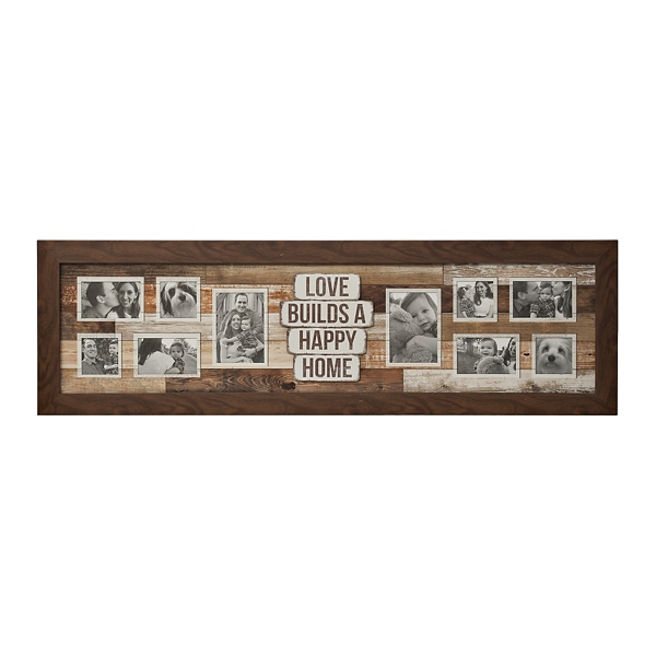 10 Opening Love Builds A Happy Home Collage Frame