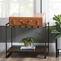 Dual Function Luggage Rack and Side Table