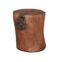 Brown Hunter Stump Stool