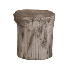 Gray Hunter Stump Stool