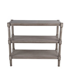 3-Tier Shiplap Oyster Console Table