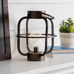Iron Cage LED Lantern
