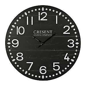Black Jacob Wall Clock
