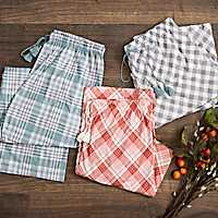Fall Flannel Pajama Pants