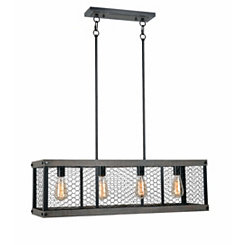 Canyon Chicken Wire Island Light