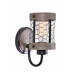 Canyon Chicken Wire Sconce