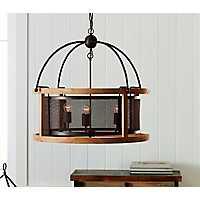 Rustic Hanging Pendant Chandelier