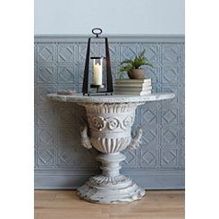 Ornate Designed Resin Console Table