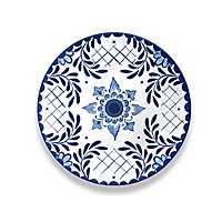 Cobalt Casita Melamine Dinner Plate, Set of 6