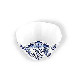 Cobalt Casita Melamine Bowls, Set of 6