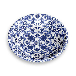 Indigo Canyon Clay Melamine Pet Saucer
