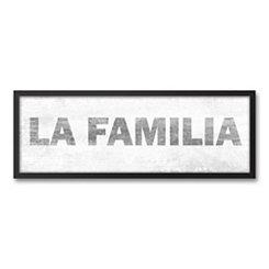 La Familia Framed Art Print