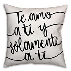 Te Quiero Pillow
