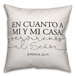 Joshua 24:15 Pillow