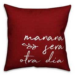 Red Manana Sera Pillow