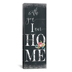 Chalky Home Canvas Art Print
