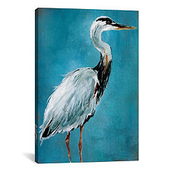 Great Blue Heron I Canvas Art Print
