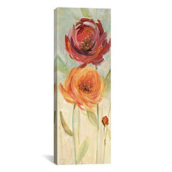 Sweet Poppies I Canvas Art Print