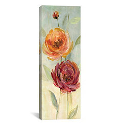 Sweet Poppies II Canvas Art Print