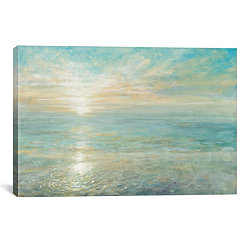 Sunrise Coastal Canvas Art Print