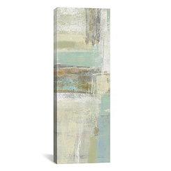 Shades of Celedon II Canvas Art Print