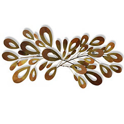 Retro Splash Metal Wall Plaque