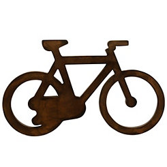Rustic Metal Bicycle Wall Sculpture
