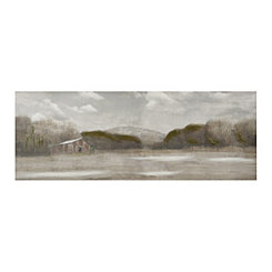 Country Satisfaction Landscape Canvas Art Print