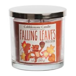 Falling Leaves Jar Candle