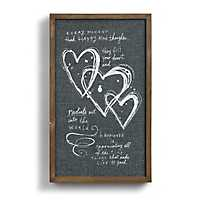 Every Moment Framed Wood Wall Plaque