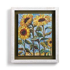 Sunny Days Floral Shadowbox Art Print