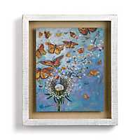 Monarch Migration Shadowbox Art Print