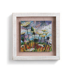 Queen Anne's Lace Shadowbox Art Print