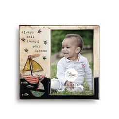 Sailboat Kids Picture Frame, 4x6