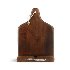 Wood Cookbook Tablet Holder
