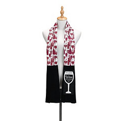 Wine O'Clock Dish Towel Boa