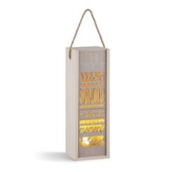 Savor the Moment Decorative Pre-Lit Lantern
