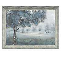 Evening Hand Painted Framed Art Print