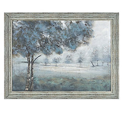 Evening Hand Painted Framed Art Print