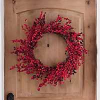Red Berries Christmas Wreath