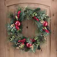 So Very Merry Christmas Wreath