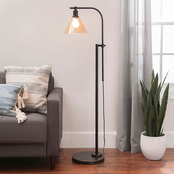 Madison Bronze Adjustable Task Floor Lamp