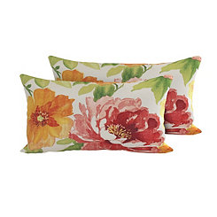 Primrose Outdoor Accent Pillows, Set of 2