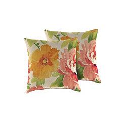 Primrose Outdoor Pillows, Set of 2